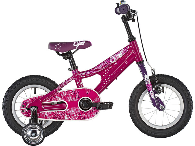 Ghost Powerkid AL 12 Børn, dark fuchsia/pink violet/star white